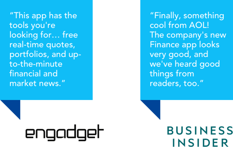 app review - engadget and business insider 2