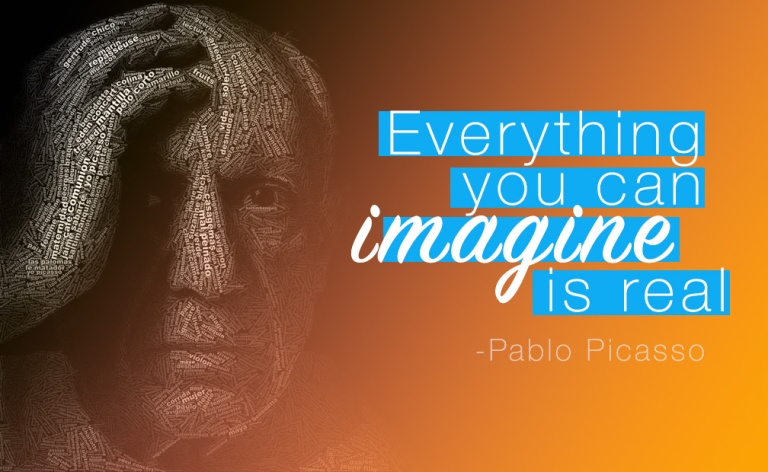 img - quote picasso