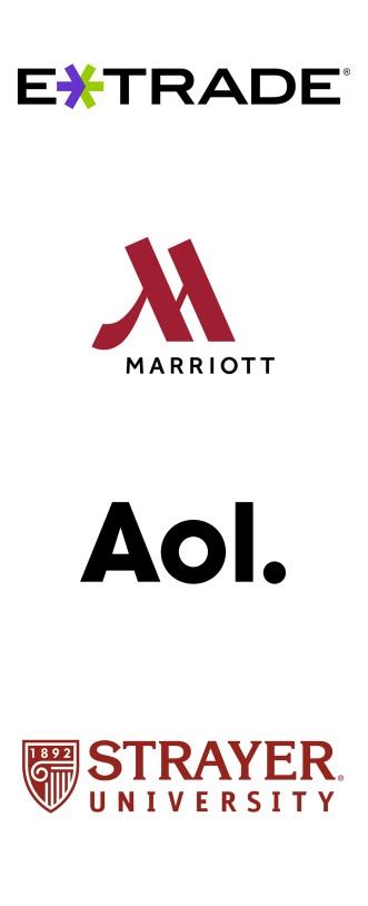 logo - etrade marriott aol strayer