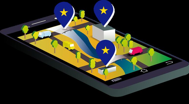 portfolio - mobile illustration