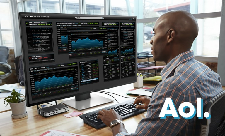 hero - aol stock platform