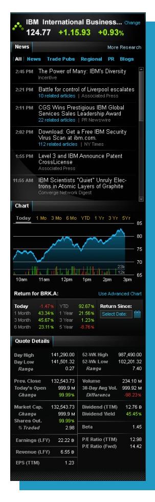 portfolio - aol trading platform - stock info 2