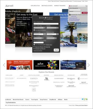 img - marriott old homepage