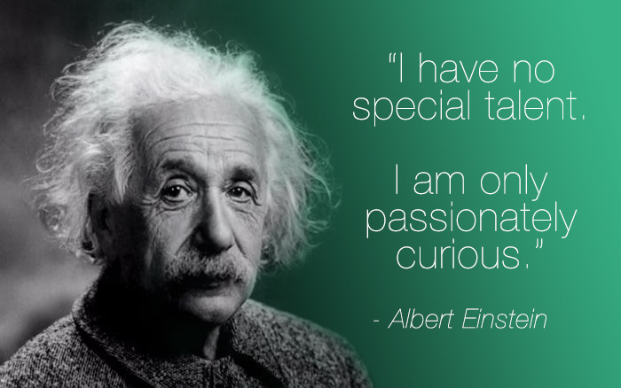 img - quote einstein passionately curious